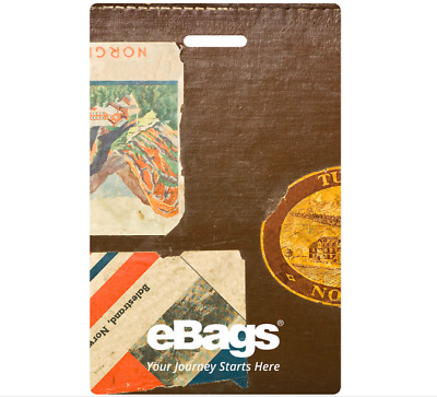 New NWT eBags Connected Luggage ID Identification Tag (Color: Vintage)