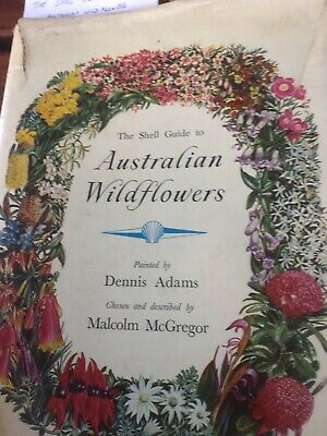 1959 Edition The Shell Guide To Australian Wildflowers