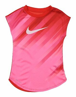 Nike Red Polyester T-shirt Girl