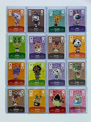 [PICK FROM LIST] RARE Animal Crossing Amiibo Cards [SERIES 1/2/3/4/PROMO]