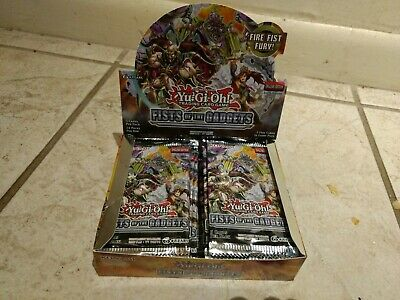 Yugioh Fists of the Gadgets booster box 1st Edition.