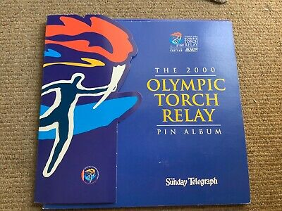The 2000 Olympic Torch Relay Pin Album