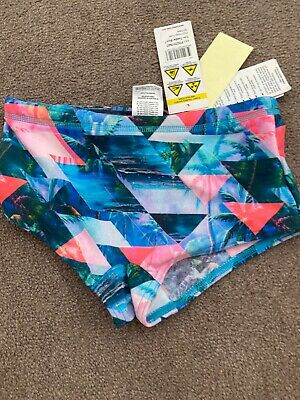 Funky Trunks Swimmers Costume Size 7 Chlorine Reaistant