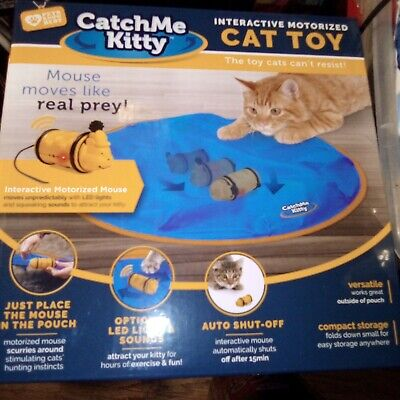 Catch Me Kitty Cat Toy,. Interactive cat toy