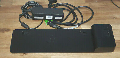 HP 2013 UltraSlim Docking Station - Used & working, includes HP Power adapter.