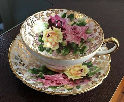 VINTAGE STANLEY fine bone china England cup and saucer