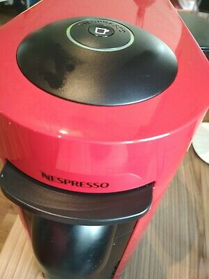 Nespresso Vertuo Plus Magimix M600 Coffee Machine - Piano Red
