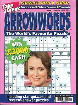 Take A Break Arrow Word Books Lots Of Fun Puzzles For All Ages Issue 13 2019