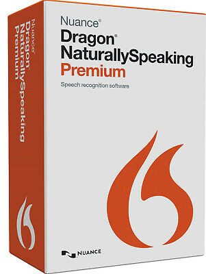 Nuance Dragon Naturally Speaking Premium Full version 13 Fast delivery