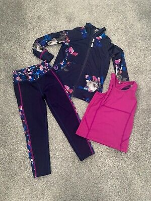 Joules Sports Outfit. Jacket, Top And Leggings. Age 3 - 4.