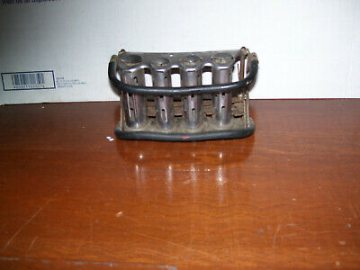 VINTAGE MADE IN USA METAL BELT McGILL COIN CHANGER