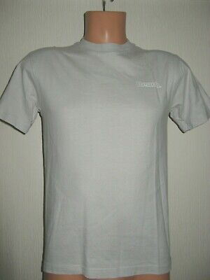 Worn Once Boys Pale Grey Bench Short Sleeve 100% Cotton Fashion T-Shirt Age 14