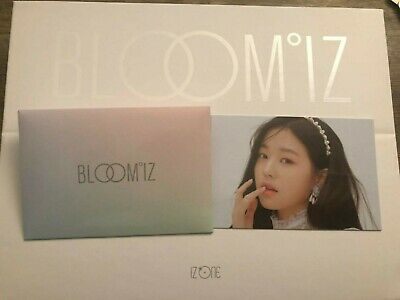 IZONE BLOOMIZ I*WAS version WonYoung photocard Kpop Official