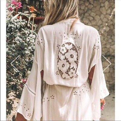 Isla Bonita Spell And The Gypsy Collective Kimono White