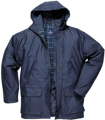 Portwest North Sea Thermal Lined Fleece Jacket Coat Wind Resistant Zipped S665