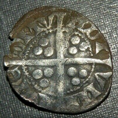 Medieval Coin Silver 1200's AD Crusader Templar Cross Lot Ancient Old England 4