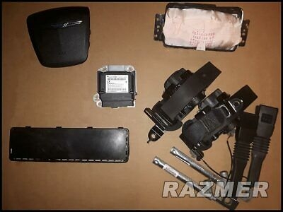 Chrysler 300 Air Bags Airbags Set With Seat Belt Retractors, Buckles & Module