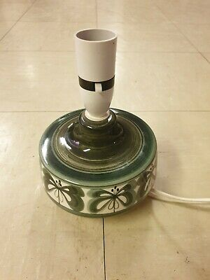 Vintage Jersey Pottery Table Lamp