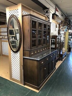 Antique Country Store Display Cabinet,Pantry , Bar, Made Out Of Chestnut & Oak