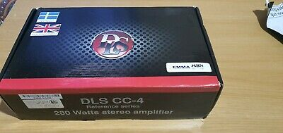 Dls Reference Amplifier cc4. Class AB Sq. High end