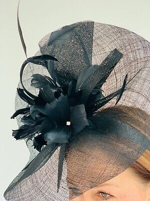 Julian MacDonald Black Fascinator