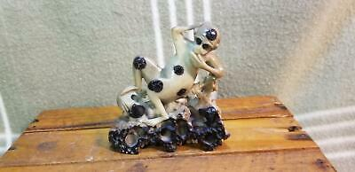 Antique Vintage Chinese Carved Soapstone Gollum/Monkey Figure. Carving.