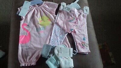 BRAND NEW - BUNDLE OF GIRLS CLOTHES -  0-3 MONTHS - MOTHERCARE- tree bag