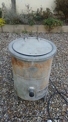 Vintage Burco Water Boiler Shellfish Sterilising Bee Keeping Brewing Kills Germs
