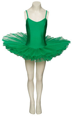 Ladies Girls Emerald Green Ballet Dance Costume Tutu Outfit All Sizes By Katz