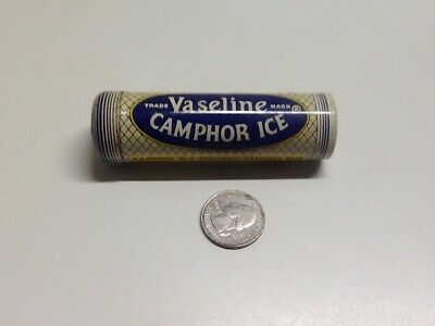 Vintage Vaseline Camphor Ice Advertising Tin.
