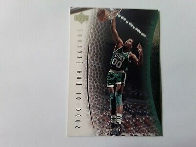 2001 UD NBA LEGENDS Robert Parish BOSTON CELTICS Basketball Card #80