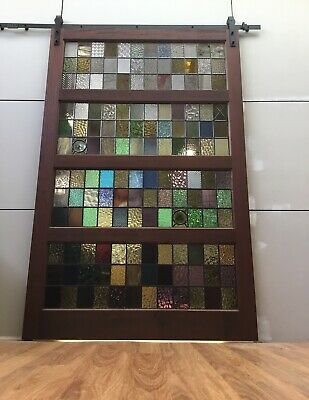 Leadlight Stained Glass Feature Door