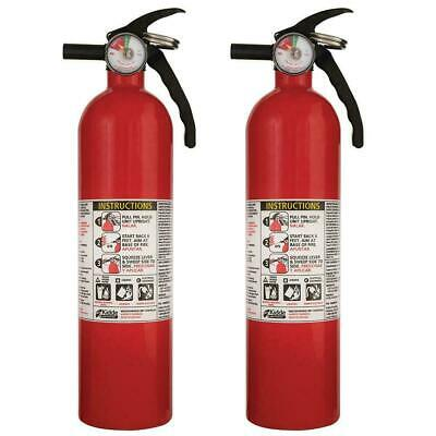 ABC Fire Extinguisher Home House Office Work Safety Kidde 3.9 Pound 2 PACK