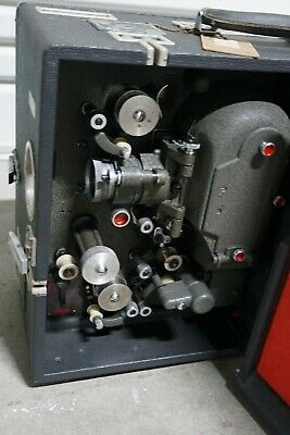 Hortson v rare 16mm sound projector with amplifier and cables
