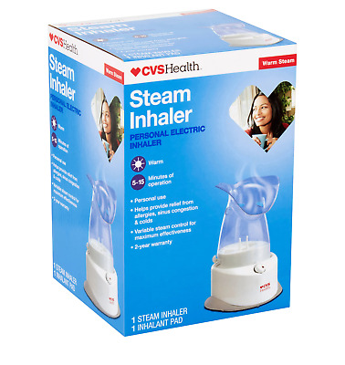 CVS HEALTH PERSONAL Electric Steam Inhaler Humidifier