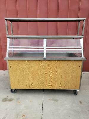 Sales counter,drive up,curb side REFRIGERATED STAINLESS