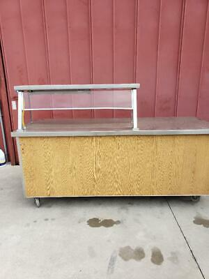 Sales counter,drive up,curb side service counter HEATED