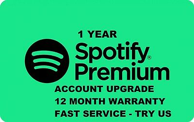 Spotify Premium Upgrade | Lifetime | Works Worldwide | Fast !