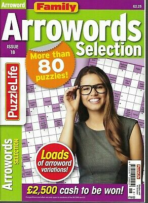 3 Arrow Word Books Lots Of Fun Puzzles For All Ages Great Price & Free P/P