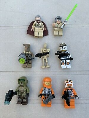 Lego Minifigures Star Wars Lotto 8 Pezzi