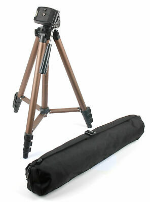 DURAGADGET Camera Tripod with Extendable Legs and Ball-Tilt Head in Black /& Gold Alpha 6600 Compatible with Sony Alpha 6100 RX100 VII Digital Cameras