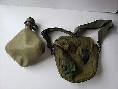 NEW US Military 2 Quart Collapsible Canteen w CAP /& EXC 2QT OD Cover /& Strap