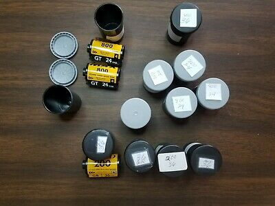 12 NEW Rolls 35mm Film Kodak Film, Gold ISO 200/36, MAX ISO 800/24 & MAX 800/36