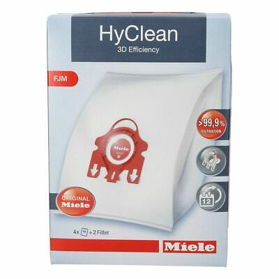 4 Filters Für Miele GN HyClean 3D S2 EcoLine Young Style S 2 6 X Staubbeutel