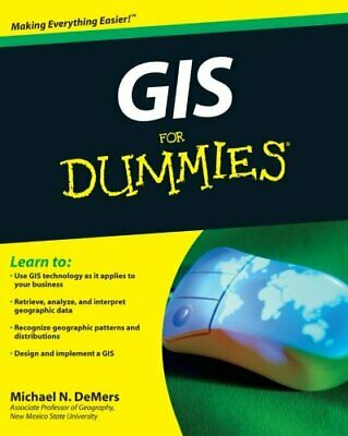 NEW - GIS For Dummies by DeMers, Michael N.