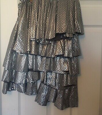 dance costumes 10 Lovely Silver Skirts Age 5-6