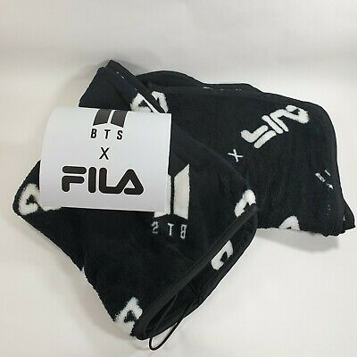 BTS x FILA Blanket Official World Tour Speak yourself K-POP Bangtan boys Opened