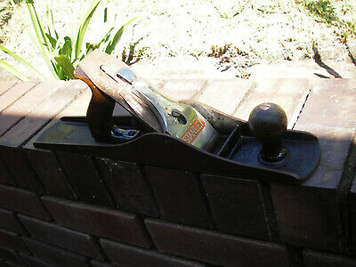 Vintage Stanley Bailey No 6 Wood Plane, Made in England woodwork