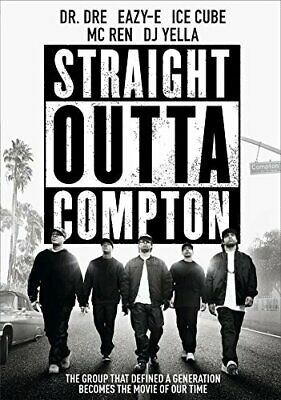 Straight Outta Compton New Dvd