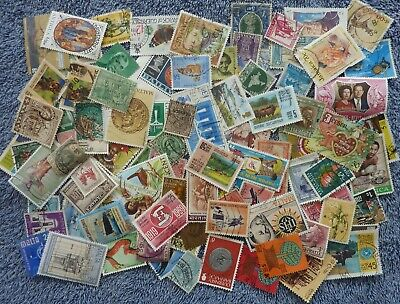Collection of over 100 British Commonwealth/Empire stamps